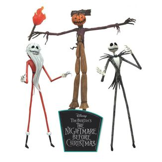 The Jobs of Jack Skellington Figure Nightmare before Christmas Set