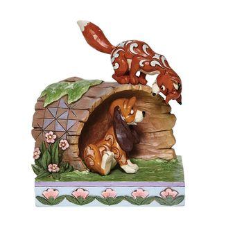 Figura Tod y Toby Jim Shore Disney Traditions