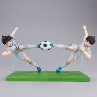 Figura Tsubasa Ozora & Taro Mizaki Captain Tsubasa Imagination Set