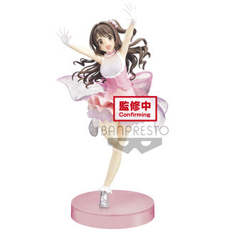 Figura Uzuki Shimamura The Idolmaster Cinderella Girls Espresto Dressy and Motions