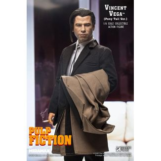 Figura Vincent Vega 2.0 Pony Tail Pulp Fiction My Favourite Movie