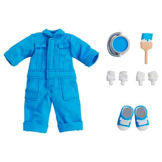 Outfit Blue Set Coveralls Nendoroid Doll