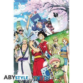 Poster One Piece Wano 91,5 x 61 cm