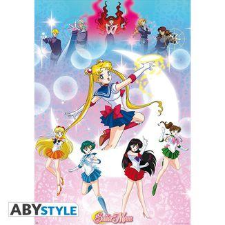 Poster Sailor Moon Moonlight Power 98 x 68 cm