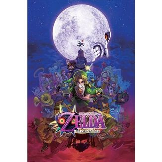 Poster The Legend of Zelda Majoras Mask 91,5 x 61 cms