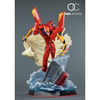 Estatua EVA 02 First Appearance Neon Genesis Evangelion