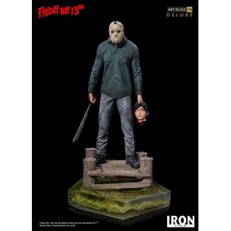 Jason Deluxe Art Statue Friday the 13th