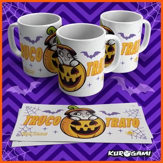 Kuroneko Halloween Mug Kurogami