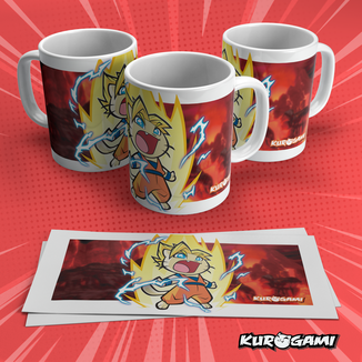 Super Warrior Kuroneko V2 Mug Kurogami