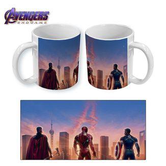 Taza Avengers Endgame Marvel Comics
