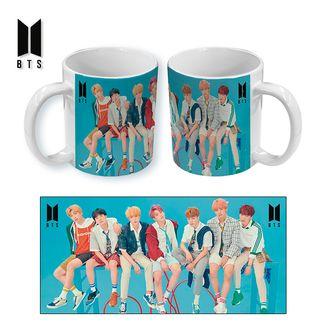 BTS Mug Blue