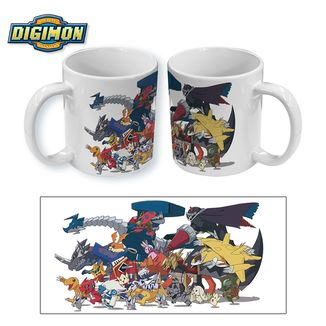 Taza Digimon Xros Wars