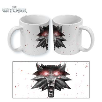 Taza The Witcher 3 Wolf in White
