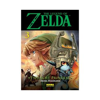 The Legend of Zelda  Twilight Princess #03 Manga Oficial Norma Editorial