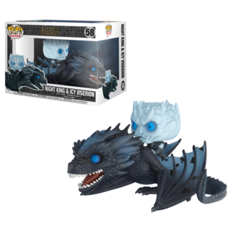Funko Night King con Dragón Pop!
