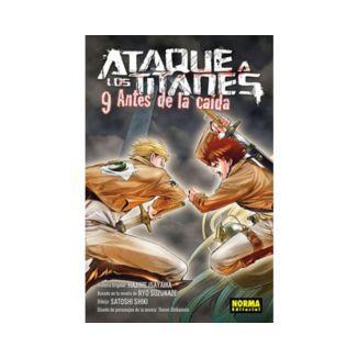 Ataque a los Titanes: Antes de la Caída #09 (spanish) Manga Oficial Norma Editorial