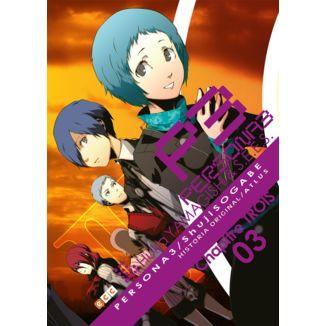 Persona 3 #03 Manga Oficial ECC Ediciones