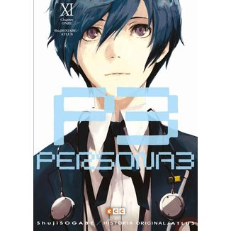 Persona 3 #11 Manga Oficial ECC Ediciones
