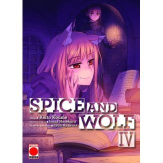 Spice And Wolf #04 Manga Oficial Panini Manga (spanish)