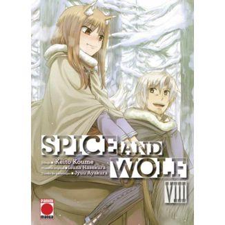 Spice And Wolf #08 Manga Oficial Panini Manga