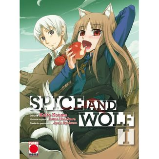Spice And Wolf #01 Manga Oficial Panini