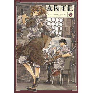Arte #02 Manga Oficial Arechi Manga