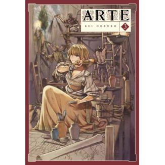 Arte #03 Manga Oficial Arechi Manga