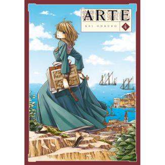 Arte #04 Manga Oficial Arechi Manga
