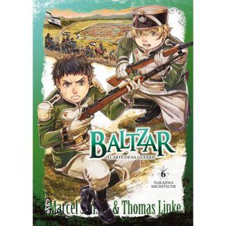 Baltzar el arte de la guerra #06 Manga Oficial Arechi Manga