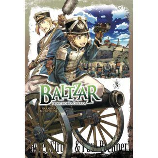 Baltzar el arte de la guerra #03 Manga Oficial Arechi Manga (Spanish)