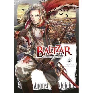 Baltzar el arte de la guerra #04 Manga Oficial Arechi Manga (Spanish)