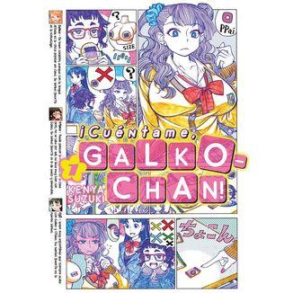 ¡Cuéntame, Galko-cahn! #01 Manga Oficia Fandogamia Editorial