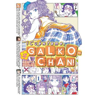 ¡Cuéntame, Galko-chan! #02 Manga Oficia Fandogamia Editorial (spanish)