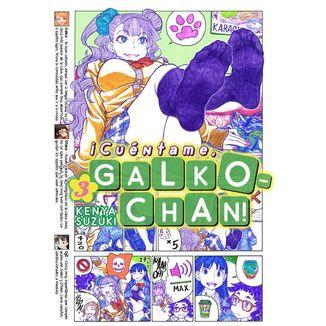 ¡Cuéntame, Galko-chan! #03 Manga Oficia Fandogamia Editorial