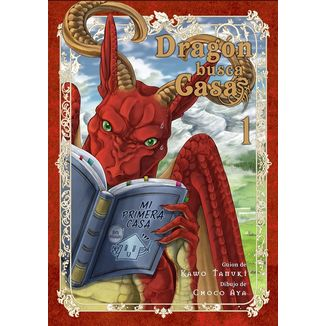 Dragon Busca Casa #01 Manga Oficial Editorial Hidra