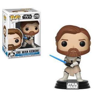 Funko POP! Obi Wan Kenobi Star Wars Clone Wars