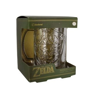 Jarra de Cristal Zelda Shield - The Legend of Zelda