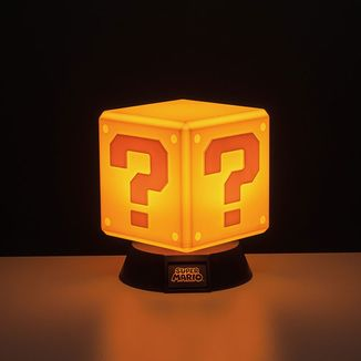 Lámpara Question Block Nintendo