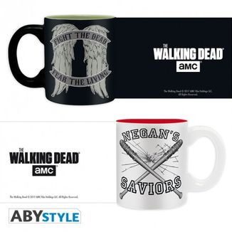 Set mini tazas The Walking Dead Daryl VS Negan