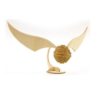 Golden Snitch Wood Model
