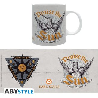 Taza Praise The Sun Dark Souls