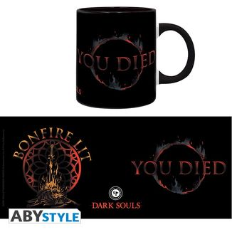 Taza You Died Dark Souls