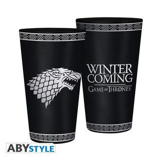 Vaso Winter Is Coming Juego De Tronos