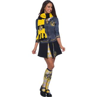 Bufanda Hufflepuff Harry Potter Replica Oficial