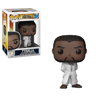 Funko POP! T'Challa Robe White Black Panther