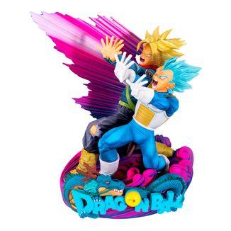 Figura Vegeta y Trunks Master Stars 2 The Brush 2 Dragon Ball Super