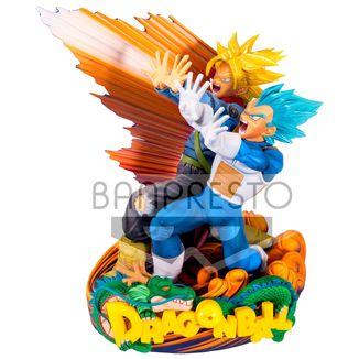 Figura Vegeta y Trunks  Dragon Ball Super - Master Star Diorama