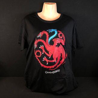 Camiseta Casa Targaryen Juego De Tronos