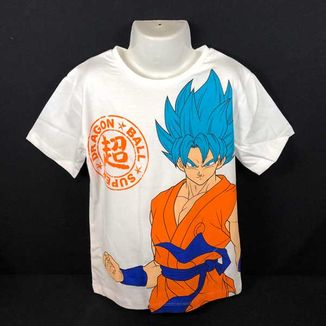 Camiseta Niño Son Goku SSGSS Dragon Ball