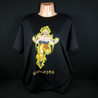 Camiseta Son Goku SS #1 Dragon Ball Z